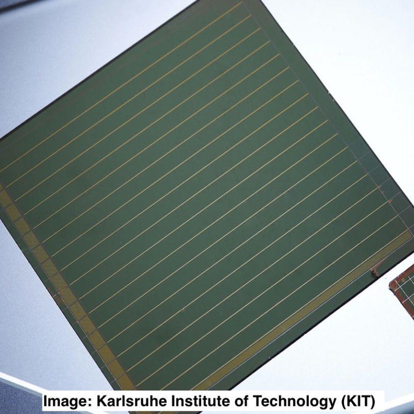 Large area laser interconnected perovskite module